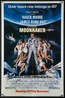 MOONRAKER 1979 Advance Summer style 1sh vintage movie poster filmartgallery $195.0 USD