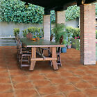 Antiqued Earthenware Rusted Classic Terracotta Effect Porcelain Floor Tiles