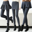 new spring autumn fashion Pure cotton big yards tight Fake two piece pants skirt