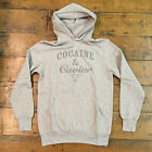 Crooks & Castles Cocaine & Caviar Hoodie In Grey Sizes S & M