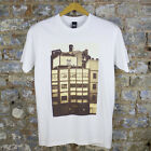 Obey All City Icon Photo Casual Short Sleeve T-Shirt New - White - Size:S.XL.