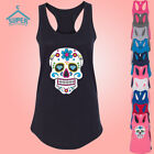 Sugar Skull LADY TANK TOP Shirt Day of the Dead Mexican Celebration Lady Tank To