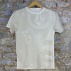 Volcom Big Nancy Casual Short Sleeve T-Shirt New - Vintage White - Size: S
