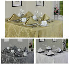 Palazzo Tablecloth And Napkin Package Set - Free Delivery - Great For Christmas