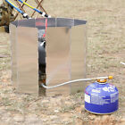 New 9/10 Plates Fold Outdoor Camping Cooking Burner Stove Wind Shield Screen JS~