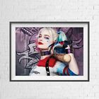 DC COMICS SUICIDE SQUAD HARLEY QUINN POSTER PICTURE PRINT Sizes A5 to A0 **NEW**