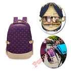Polka Dots Maternity Mummy Baby Nappy Diaper Changing Backpack Bag Milk Carrier