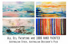 AUS Stock - Original Oil Painting - ABSTRUCT 1400x 700 - Unframed Or Canvas