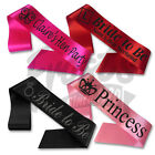 Hen Party Sashes, Bride to be Sash, Bridesmaid Sash, Personalised Sashes
