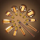 100X 40W E27 Vintage Bulb Retro Industrial Incandescent Light Lamp Pendant Bulbs