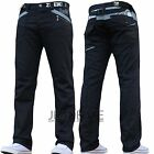 NEW MENS ENZO BRANDED JEANS PANTS CHEAP DESIGNER DENIM COATED ALL WAIST & SIZES