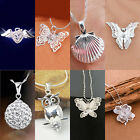 Women's Fashion Accessories Crystal Silver Plated Necklace Pendant Jewelry