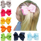 3 Inch Hair Bow Boutique Girls Kids Clips Headwear Bowknot Hair Accessories