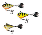 SpinMad JIGMASTER 8g - 3,8cm - *** gr. Farbauswahl *** Jigspinner Tailspinner