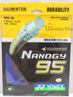 Genuine YY NBG95 Nanogy 0.69mm Badminton Racket String 10m Durability (7 Color)