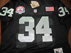 Brand New! BO JACKSON OAKLAND RAIDERS #34 Throwback 2patch stitched Jersey MEN