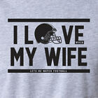 watch love and hip hop atl season 3 - I LOVE when MY WIFE lets me WATCH FOOTBALL season fantasy funny husband T-Shirt