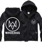 V Watchdog Peripheral Sweater Clothes Jacket Cardigan Watch Dogs Game
