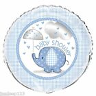 Blue Umbrellaphants Baby Shower Party Supplies Tableware Decorations Boy Here
