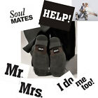 Wedding Shoe Stickers,Help, Soul Mates, 'Mr. Mrs', 'I do, Me too!' Novelty Prop