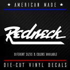 REDNECK Die-Cut Vinyl Window Decal + Different Sizes + Hillibilly Farmer Country