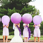 36 Inch Colorful Large Round Big Giant Latex Balloon Wedding Party Decoration