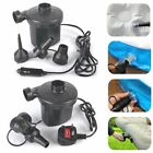 240V/12V Electric Air Pump Inflator For Inflatables Airbeds Pools Sofa Toys Camp