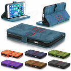 New Luxury Magnetic Flip Cover Stand Wallet Leather Case For Mobile Phones New