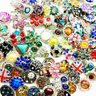wholesale mix style 18mm Ginger Snap Buttons Jewelry Charm Bracelets Accessories