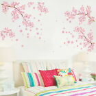 Cherry Flower Blossom Tree Branch Wall Stickers Kids Decor Business Decals Art