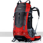 Camping Hiking Backpack Pack Professional CR Mountaineer Bag Hiker 60L Capacity