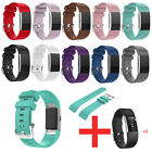 Silicone Sports Bracelet Strap Band For Fitbit Charge 2 + 3Pcs Screen Protector