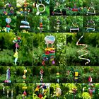 Bird Parrot Toy Pet Trapeze Swing Rope Harness Cage Chew Bite Perches Climb Bell