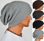 Trendy! Chic Men Knitting Slouchy Beanie Cap Baggy Winter Hat Oversize Unisex