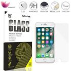 "New Retail Box 9H+ Tempered Glass Screen Protector for iPhone 7 Plus 6s 5.5"" Lot"