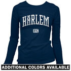 Harlem NYC Women's Long Sleeve T-shirt - LS S-2X - New York City ASAP 125th St.