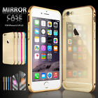 Luxury Mirror Back Ultra-thin Aluminum Defender Case Cover for iPhone 6 6S Plus
