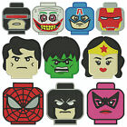 * LEGO HEADS 2 * Machine Embroidery Patterns * 10 Designs,  3 sizes