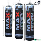 Rex leather Unfilled Punch Bag MMA Kick Boxing Gym Fight Training 4ft, 5ft, 6ft