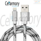 BRAIDED USB Charger Cable Data Sync Cord For iPhone 7 Plus iPhone 6 iPhone 5s SE