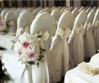 100 Polyester Banquet Chair Covers Wedding Reception Party Decorations 3 Colors!