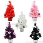 5 Color Pretty 30cm Mini Table Top or Home Decorate Christmas Tree Ornament Gift