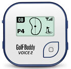New 2016 GolfBuddy Golf Buddy Voice 2 Talking GPS Rangefinder - Pick Your Color