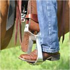 Cashel EZ Knees Horse Show Equitation Western Saddle Stirrup Turner Rotator PAIR