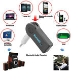 Bluetooth Wireless 3.5mm Stereo Aux Audio Mp3 Music Home Car Receiver Adapter