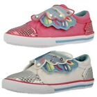 Girls Startrite Machine Washable Canvas Pumps Butterfly Wings