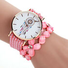 Large Dial Luxury Crystal Women Watches Bracelet Windbell Pattern Analog Watches