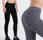 Quick Dry Buttock Lifting Trousers Women's Gym Fitness Sports Running Yoga Pants