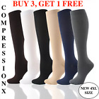 Compression X (S-3XL) Socks Pain Relief Calf Leg Foot Support Stocking Men&Women