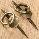 2/10pcs Pull Handles Knob Vintage Style Jewelry Box Ring Handle Cupboard Cabinet